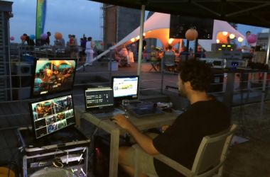 Beclip.TV At Work Gato Negro Rooftop Party 9
